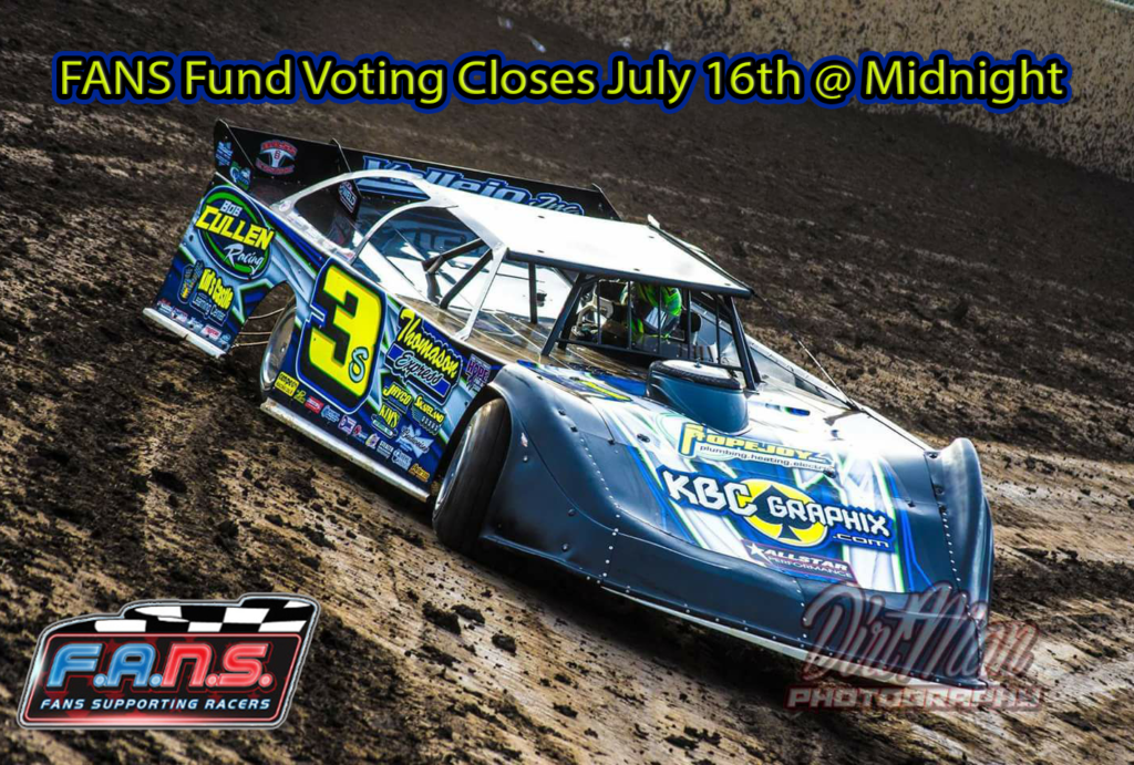 FANS Fund Voting Ends July 16th