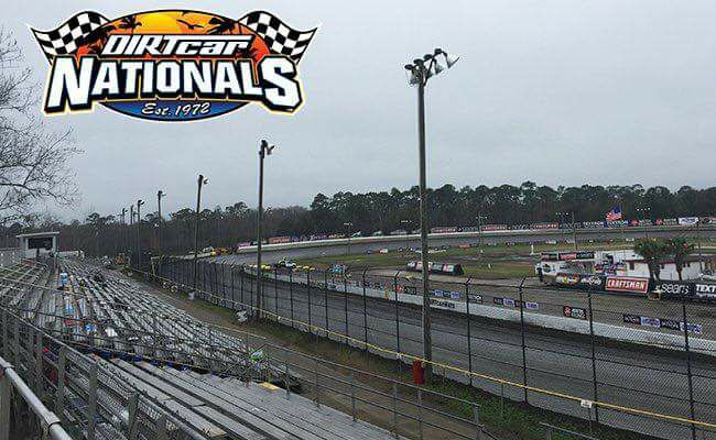 2/13 – DIRTcar Nationals @ Volusia Speedway Park - Rained Out